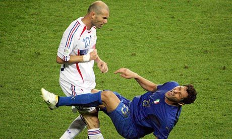 Zinedine Zidane 'would rather die' than apologise to Marco Materazzi...