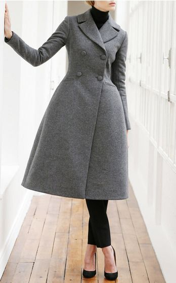 The king of impeccable tailoring presents an outerwear-lover's oasis for pre-fall. Teeming with timeless pieces, the collection features Grant's signature ladylike swing coats and supple leather midi-skirts tempered by plush Mongolian lamb fur accent and a delightfully unexpected infusion of leopard print.