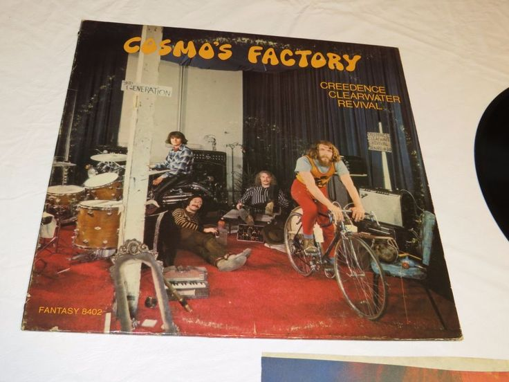 Cosmo's Factory Creedence Clearwater Revival Fantasy LP Album RARE Record vinyl