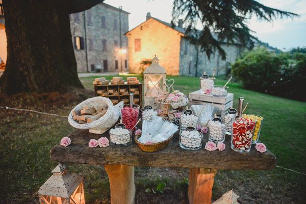 rustic sweet table // photo: l&v photography