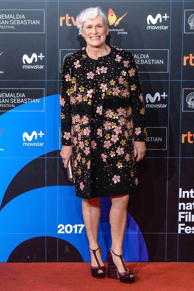 Гленн Клоуз на кинофестивале в Сан-Себастьяне