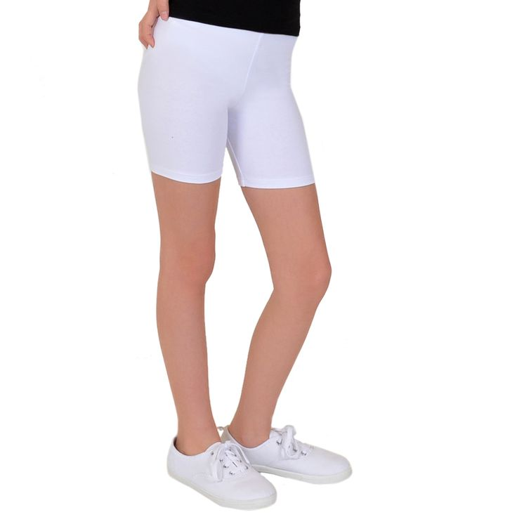 Girl's Cotton Biker Shorts   – Products