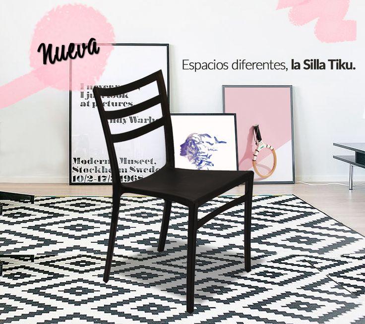 En agosto tenemos nuevas ideas para ti. Una silla que hace la diferencia en cualquier lugar, conoce más de nuestra Silla Tiku en nuestro sitio web www.metalicascruz.net 💙