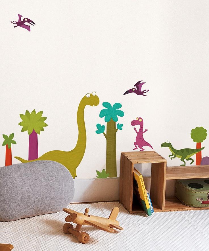 Best 25 dinosaur wall decals ideas on pinterest for Dinosaur wall decals for kids rooms