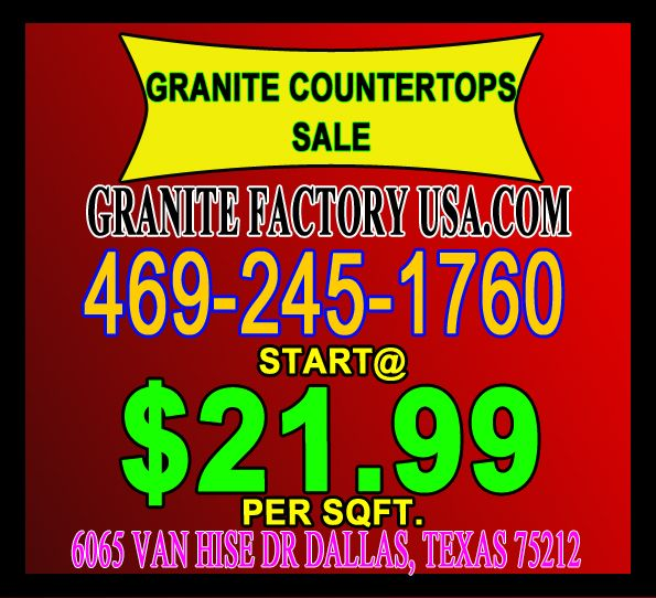 Best granite store in Dallas kitchen furniture, worktops come into contact with an assortment of natural parts. In this way, when picking a worktop for your kitchen, you should remember this.