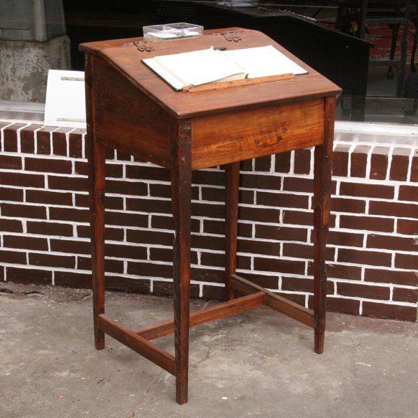 stand up writing desk | Coast of Utopia design | Pinterest ...
