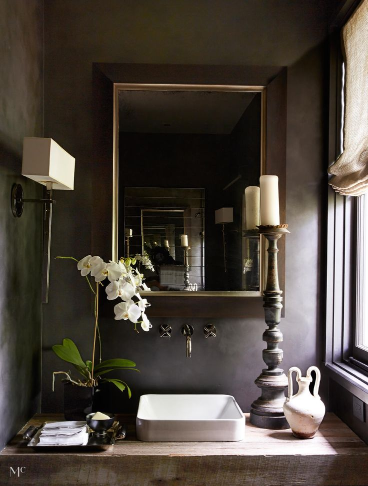 Dramatic Invention   home of Ray Booth of McAlpine Booth and Ferrier  Interiors. 17 Best images about BATHROOM on Pinterest   Faucets  Tile and