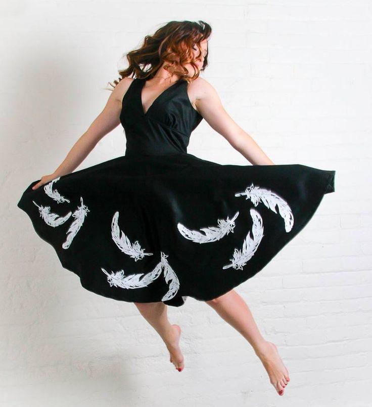 "Blackbird Studios - Hamilotn, Ontario - Lisa wearing ""Audrey"" dress"