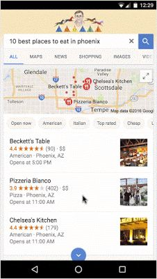 Google update structured data documents to support new rich cards for local restaurants