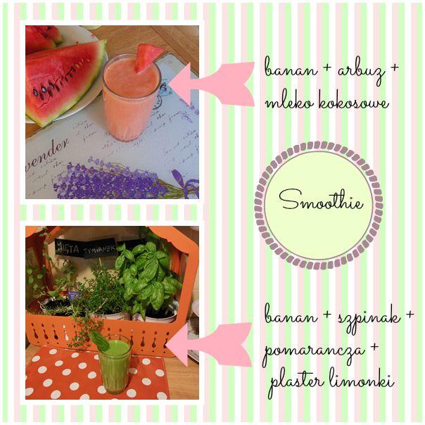 ...Dalwi... blog o szyciu i nie tylko: Smoothie koktajl warzywno owocowy