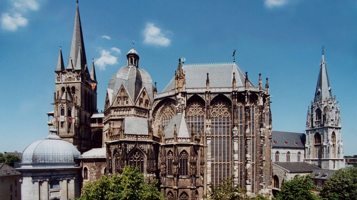 images Aachen Cathedral sights in germany