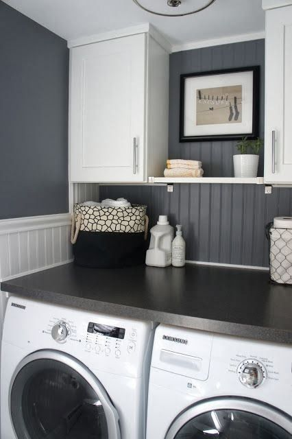 Love folding space on top of washer and dryer