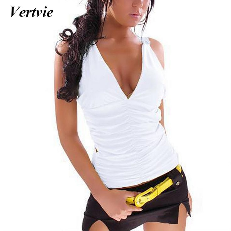 Vertvie Sexy V-Neck Lace Hollow Out Yoga Shirt For Women Breathable Quick Dry Bodybuilding Slim Tank Top Women White Black Solid #Affiliate