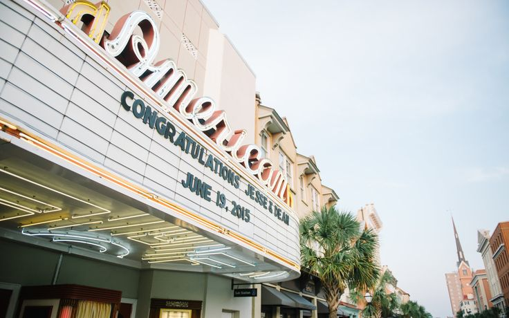 The American Theater | Historic 1942 Charleston Cinema | Vintage Marquee as seen in The Notebook
