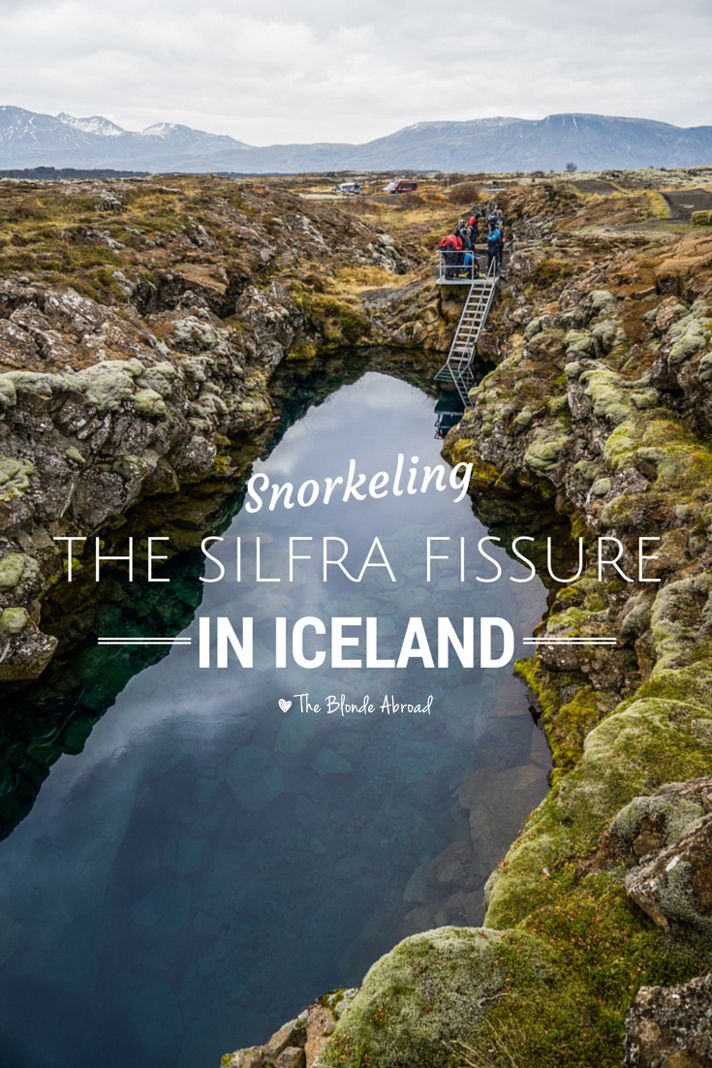 Snorkeling the Silfra Fissure |The Blonde Abroad