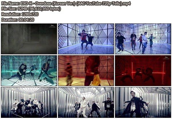 [Download MV] EXO-K Overdose (Korean Ver.) [YouTube 720p]