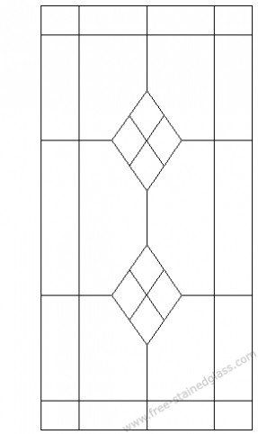 stained glass pattern  will look good on my attic windows