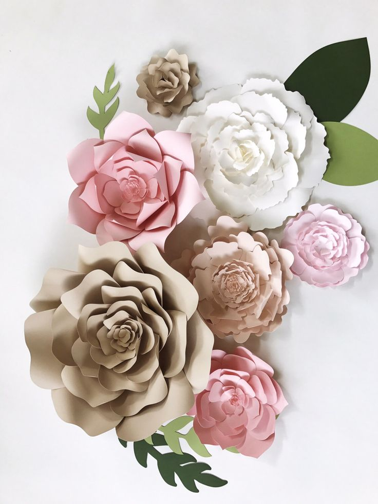 paper flower wall decor large paper flower backdrop giant paper flower paper flower backdrop champagne wedding color paper flower decor