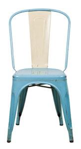 raw vintage tolix chair