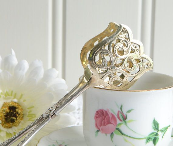 Pastry and cookie tongs vintage German by GrannyHannasCottage