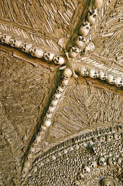 The Chapel of Bones (Capela dos Ossos), Campo Maior, Portugal (4) by nhojuonah, :(