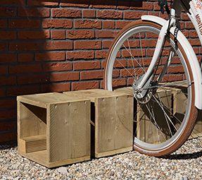 Multimate werktekening - Houten fietsenrek