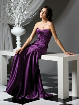Wedding, Purple, Dress, Bridesmaids