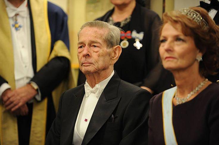 King Michael of Romania and Crown Princess Margarita (Regele Mihai al Romaniei si Principesa Mostenitoare Margareta)