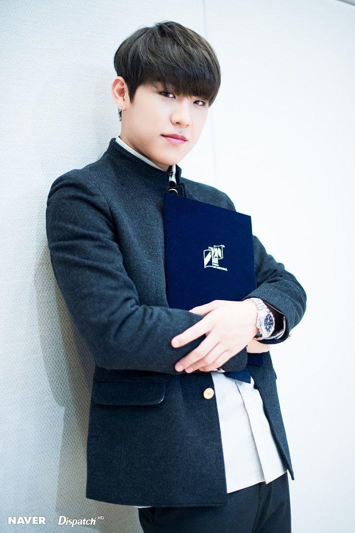 WANNA ONE | Park Woo Jin | Woojin | 080218 Jihoon and Woojin's Graduation by Dispatch
