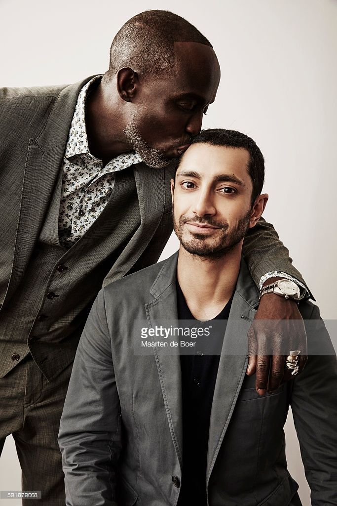 Michael K. Williams and Riz Ahmed from HBO's 'The Night Of' 'pose for a portrait…