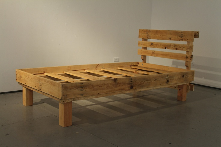 19 best images about pallet bed frame on pinterest
