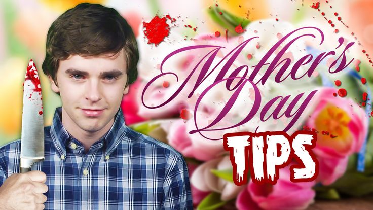 Mother's Day Tips from Norman Bates (Freddie Highmore) OH MY GOD THIS MADE MY LIFE I AM THE PHYSICAL EMBODIMENT OF HAPPINESS