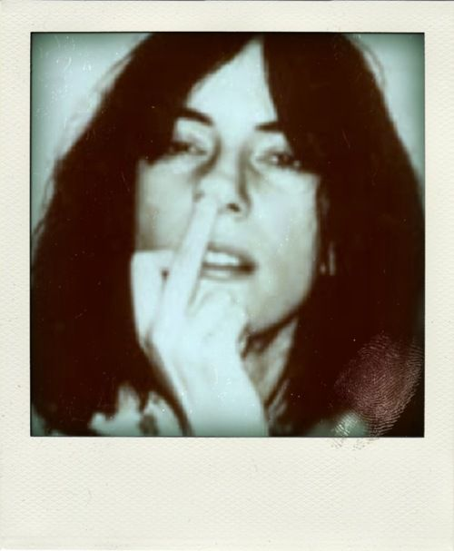 This is one of my favorite ways to flip someone off. Luv u Patti Smith.