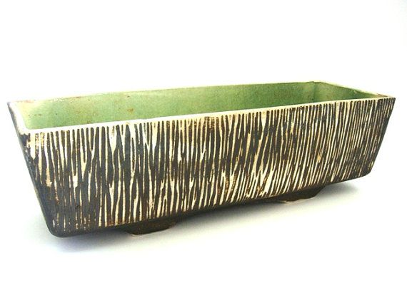 Vintage large ceramic planter from the 50s by VintageBreda on Etsy, €15.00
