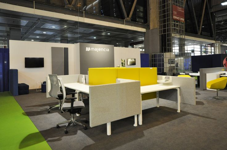 salon bureaux expo 2015 espace modulable eklipse si ges de travail aura bureaux expo 2015. Black Bedroom Furniture Sets. Home Design Ideas