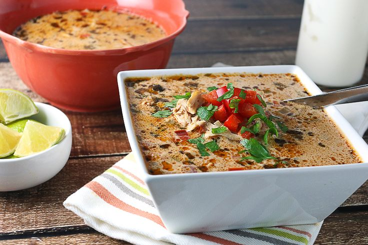 Chicken Enchilada Soup | Ruled Me