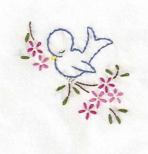 napkin - napping bird1 by bookwormbethie, via Flickr