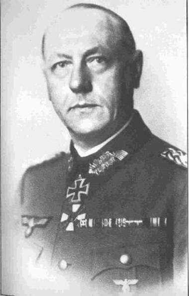 ✠ Werner Otto Sanne (5 April 1889  – 26 September 1952) RK 22.02.1942 Generalmajor Kdr 100. le. Inf.Div