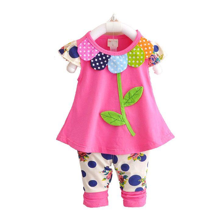 New Summer Baby Girl Clothing Set Minnie Vest Dot Shorts Little Girls Summer Sets Cotton Children Kids Toddler Girl Clothes