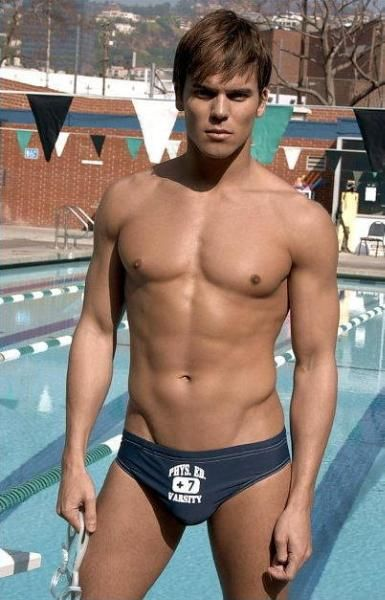"""Andrew Christian Phys Ed Low Bikini Navy サイズUS-S""。_画像1"