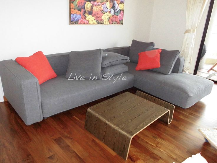 Fabric l shape sofa adalgiso fabric sofas sofasale for Cody fabric 5 piece l shaped sectional sofa