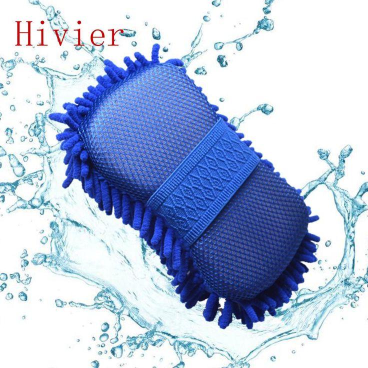 Al por mayor Nueva Microfibra Real Coche Detallando Cepillos de Lavado Lavadora Cuidado de la Limpieza Toalla Auto Suministros Guantes Labrar Accesorios