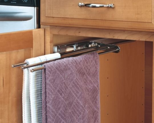 Undersink Dish Towel Rack Kitchen Towel Set Kitchen