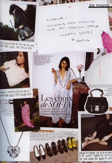 Vogue par Sofia Coppola