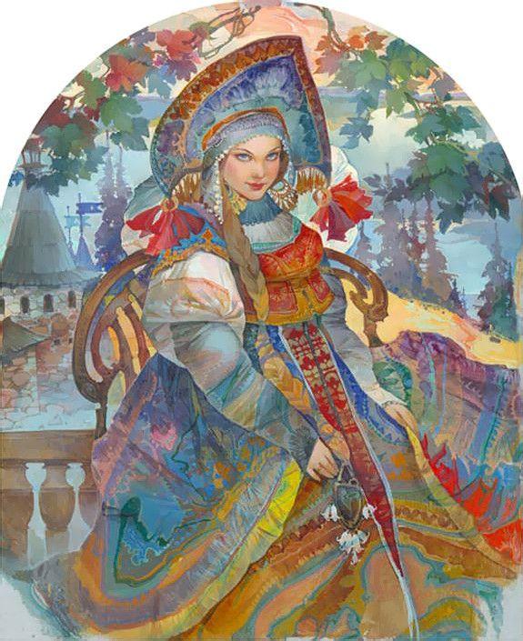 Русский народный костюм - Страница 8 - Беседка