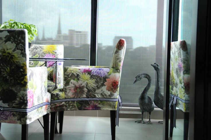 A peaceful Winter garden over looking stunning city views. Melbourne Apartment by Beautiful Room