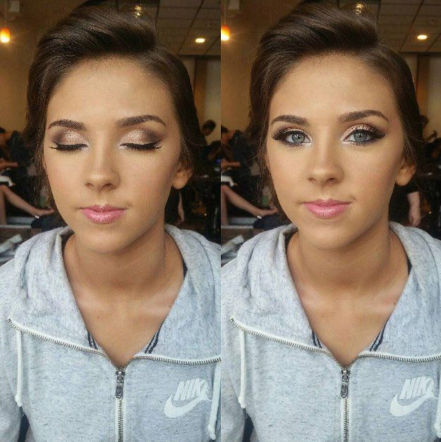 Glitter and Class | 20+ Homecoming Dance Makeup Ideas Guaranteed To Win You The Crown