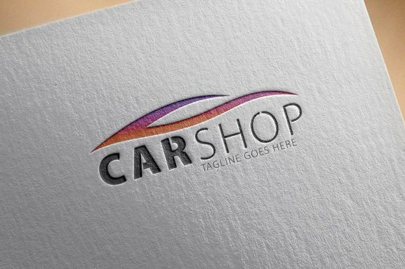 Check out Car Shop Logo by samedia on Creative Market