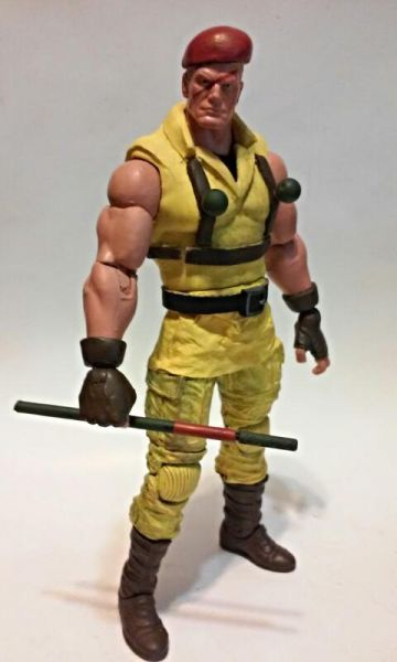 Rolento- Street Fighter Alpha 2 (Street Fighter) Custom Action Figure