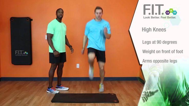 F.I.T. Exercises - High Knees  http://myforeverfit.flp.com